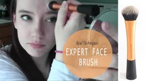 real techniques expert face brush first