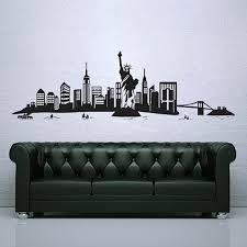 New York City Skyline Vinyl Wall Art Decal