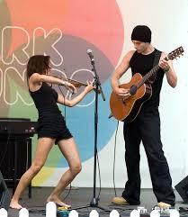 Anna Phoebe & Byron Johnston, Canary Wharf, July 2008 | Flickr