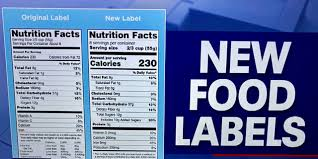 3 big changes to the nutrition facts