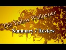 yellow wallpaper by charlotte perkins