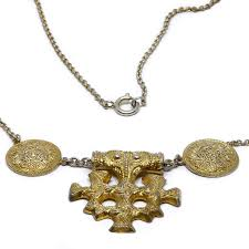 art deco see collier necklace
