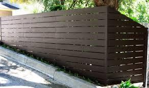 Incline Modern Fence Design Modern Fence Fence Design