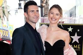 adam levine receives a star on the