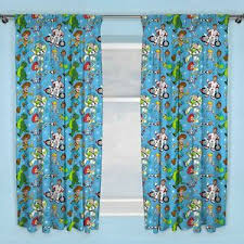 Toy Story 4 Rescue Curtains Readymade Kids Bedroom 54 Drop Ebay