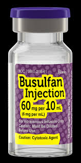 Try to make busulfan sure your child