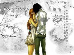Romantic cartoon couple image - Home | Facebook
