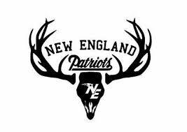 Deer Hunting Antler Truck Window Decal Sticker New England Patriots Football In 2020 Window Decals New England Patriots Football Hunting Decal