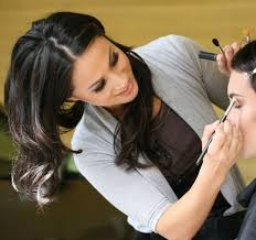 pro with master makeup artist