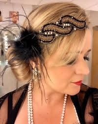 1920s flapper hairstyles for long hair