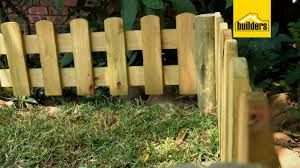 How To Install A Picket Fence Youtube