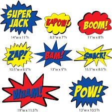 Super Hero Wall Stickers