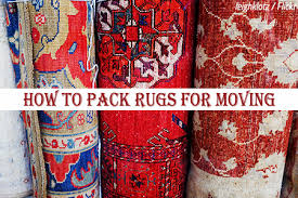 how to pack area rugs for moving we ve
