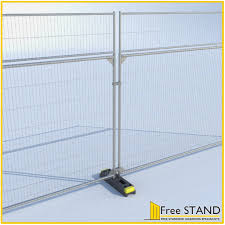 Mesh Fencing Extension Panel Free Standing Hoarding