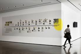 Pin By Dan Rowe On Architecture Environmental Graphic Design Timeline Design History Wall