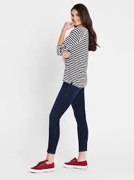 Sonya Long Sleeve T-Shirt Midnight White Stripe | Mavi Jeans – Mavi AU