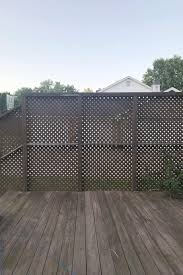 How To Build An Inexpensive Slat Wood Privacy Fence A Beautiful Mess