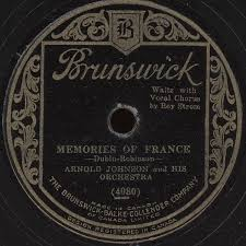 Arnold Johnson And His Orchestra - Memories Of France / That's How ...