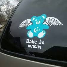 Pregnancy And Infant Loss Vinyl Decals