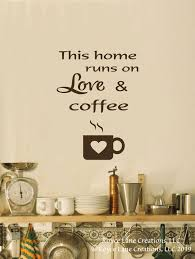 Kitchen Wall Decal Coffee Decal Kitchen Decal Kitchen Art Etsy