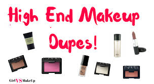 high end makeup dupes