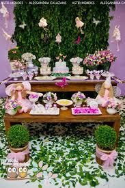 fairy garden themed 1st birthday party