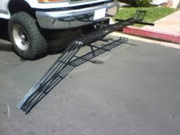 homemade motorcycle carrier and r