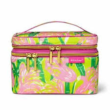 nwt lilly pulitzer makeup bag travel