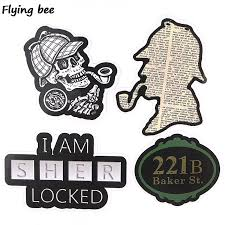 2108761492 Flyingbee 33 Pcs Sherlock Waterproof Car Sticker Fashion Pvc Scrapbooking Stickers For Diy Luggage Laptop Notebook Sticker X0353 Consumer Electronics Games Accessories