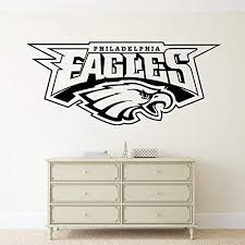 Philadelphia Eagles Wall Vinyl Decal Sticker Nfl Emblem Football Logo Sport Home Interior Removable Decor 20 High X 44 Wide Wall Stickers Murals Amazon Canada
