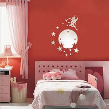 3d mirror wall sticker kids bedroom
