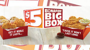 5 bonafide big box is back at popeyes