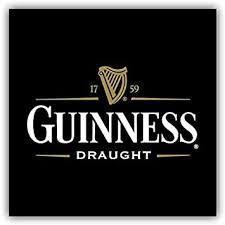 Amazon Com Valstick Guinness Draught Beer Logo Car Bumper Sticker Decal 12 X 12 Furniture Decor