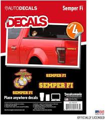 Usmc Semper Fi Marine Corps Vinyl Decal Sticker Car Truck Window Car Truck Graphics Decals Auto Parts And Vehicles Tamerindsa Com Ar