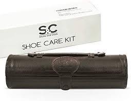 clark 12pc shoe polish care kit