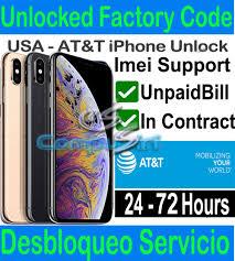 at t iphone xs xs max xr unlock service