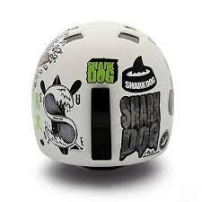 Custom Decal Stickers For Helmet Motorcycle Biker Snowboard Helmet Shark Dog 09