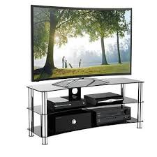 large upto 70 inch tv stand unit curved