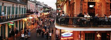 best streets in new orleans to party on