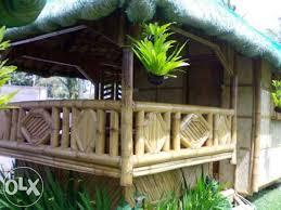 Nipa Hut Bahay Kubo Philippines House Design House Fence Design Bamboo Building