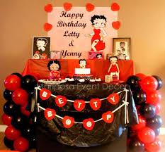 Betty Boop Birthday Party Ideas Fiestas De Cumpleanos Tematicas