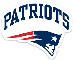 New England Patriots Nfl Color Die Cut Decal Car Sticker
