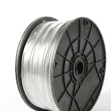 Super Sale F09cec 2 0mm 100m Electric Fence Wire Many 1 8 Strands Aluminum Magnesium Alloy Wire For Electronic Fence High Voltage Pulse Power Line Cicig Co