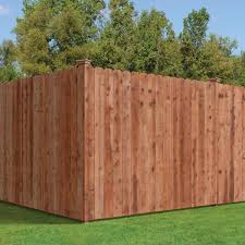 Unbranded 1 In X 6 In X 6 Ft Pressure Treated Cedar Tone Dog Ear Fence Picket 159743 The Home Depot