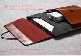 wool envelope style sleeve bags cases