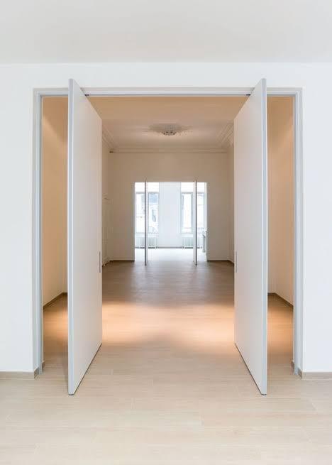 Alternatif pintu untuk rumah lahan besar