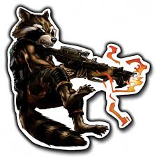 Guardians Of The Galaxy Rocket Vinyl Decal Sticker For Laptop Gonselling On Artfire