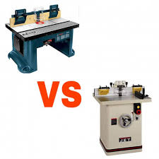 Router Table Vs Shaper Which One Is Better For You Top15products