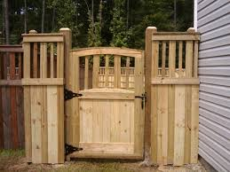 Wooden Fence Gate Designs
