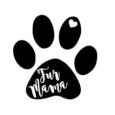 Fur Mama Vinyl Decal Fur Mom Car Laptop Iphone Yeti Etsy Cricut Paw Heart Vinyl